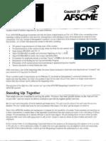 AFSCME February Bargaining Bulletin