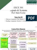 EECE 301 Note Set 2 CT Signals