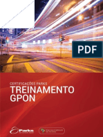 Certificações Parks - GPON - 4ª Edição