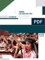 Estudio Opinión de la población sobre la eduación bilingüe