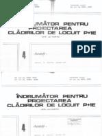 Indrumator Pentru Proiectarea Cladirilor de Locuit P+1 Fundatii