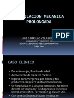 VENTILACION MECANICA PROLONGADA