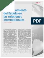Debilitamiento del Estado en las relaciones internacionales (La Nación 2372 - Enero 2013)