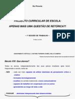 PCE - APENAS MAIS UMA QUESTÃO DE RETÓRICA (RP)