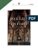 S. J. Parris - Los Herejes de Oxford.pdf