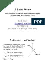 Statics Review Slides 2