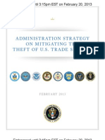 Admin Strategy to Mitigate the Theft of U.S. Trade Secrets - Embargo