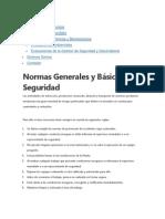 Normas Generales y Basicas de Seguridad