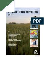 Förvaltningsuppdrag 2013 - Vårdproduktionsberedningen