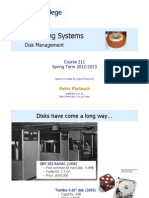 Disk Management Lecture