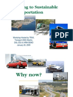Shifting to Sustainable Transportation