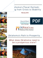 Oklahoma's Fiscal Outlook