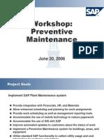 Blueprint Session 8 Pm Preventive Maintenance