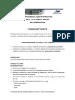 Trabajo Independiente Sem 1-2009