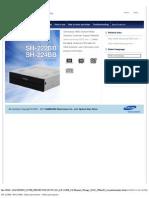 Samsung SH 224BB