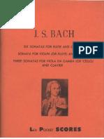Bach JS - 10 Sonatas - BWV 1020 BWV 1027-1035 Flute Violin Viola Da Gamba Cello