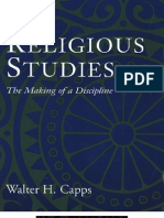 "Religious Studies  "" the Making of a Discipline"" - Walter H. Capps"