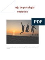 La psicología evolutiva
