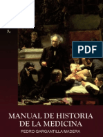 Manual de Historia de La Medicina