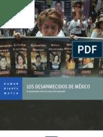 Los desaparecidos de México. El persistente costo de una crisis ignorada [HRW 2013]