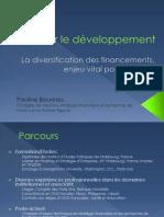 Financer le développement