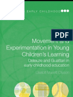 (Contesting Early Childhood )Liselott Mariett Olsson-Movement and Experimentation in Young Children's Learning Deleuze and Guattari in Early Childhood Education (Contesting Early Childhood) -Routled