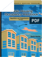Public Housing Occupancy Handbook and Index - David Hoicka - 2004 - ISBN 1-59330-129-4