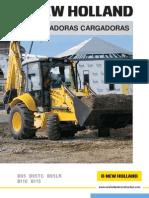 Manual Retroexcavadora New Hollandb95-b110