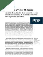 Entrevista a Victor Toledo_b_M. DI DONATO