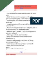 Técnicas de análise das fontes