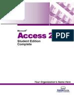 Access 2003 Tutorial