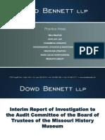 Powerpoint presentation from Dowd Bennett LLP Re