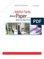 Helpful Facts About Paper - What You Need to Know!