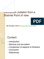 Kabbalistic Judaism from a Shaivite Point of view