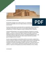 Los Zigurats de Mesopotamia