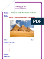 3AS Project - Unit 1 ( Egypt, Land of History and Civilizati