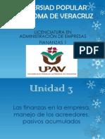 Unidad 3 de Finanzas