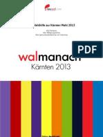 neuwal walmanach Kärnten 2013