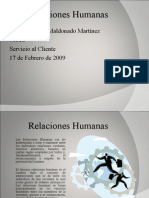 Presentacion Relaciones Humanas