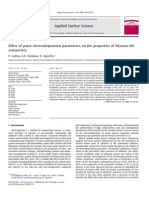 Effect of Pulse Electrodeposition Parameters on the Propert