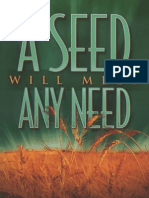 A Seed Will Meet Any Need - Keith Butler