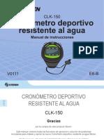 cronómetro CLK-150-instr