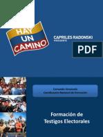 Taller de Testigos Electorales LARA Sep 2012