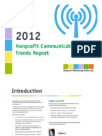 2012 Nonprofit Communications Trends Report