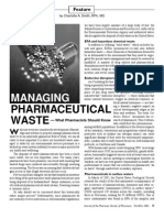 Pharmaceutical Waste Article
