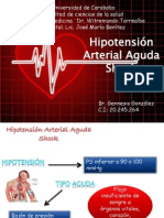 Seminario de Hipotension