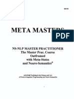 NLP - Meta Masters - NS-NLP Master Practitioner Course Outframed With Meta-States - Michael Hall