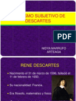 Idealismo Subjetivo de Descartes