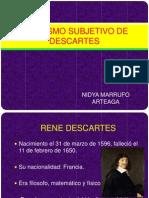 Idealismo Subjetivo de Descartes
