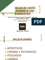 TÉCNICAS DE BANQUETES